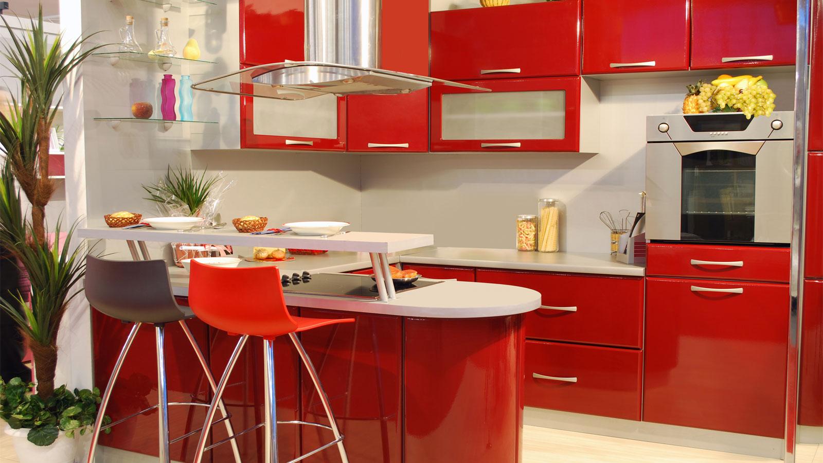 Fabuloso Uma cozinha vermelha para te inspirar | Amo KitchenAid RL79